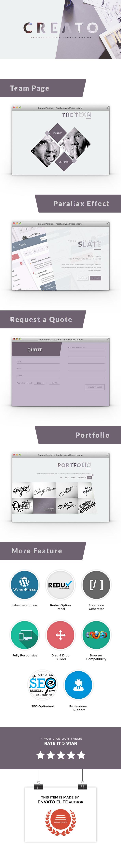 Creato - Kreative und moderne HTML-Vorlage