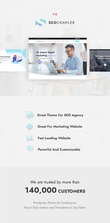SEOCrawler - SEO & Marketing Agentur WordPress - 1