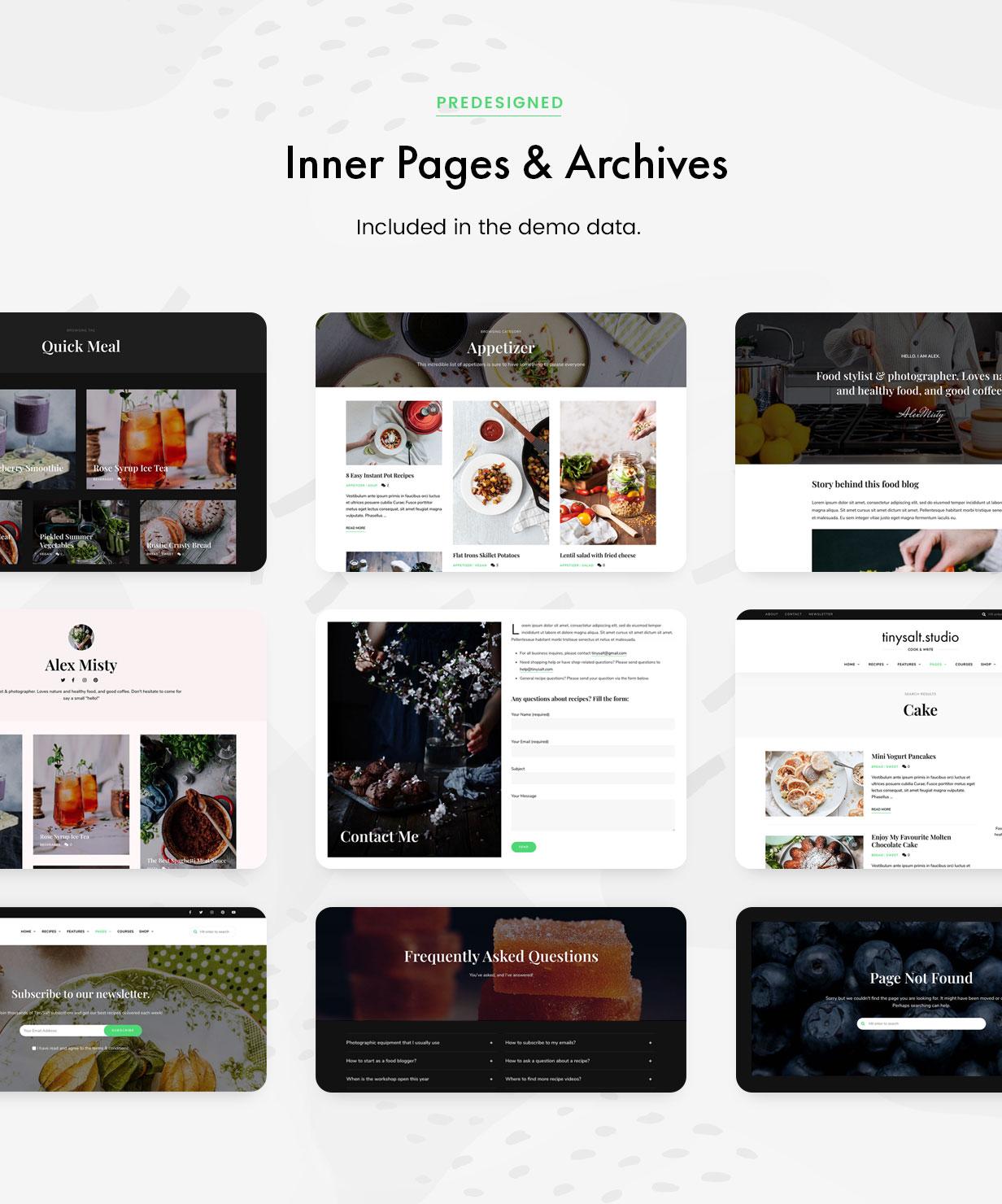 TinySalt - Innere Seiten