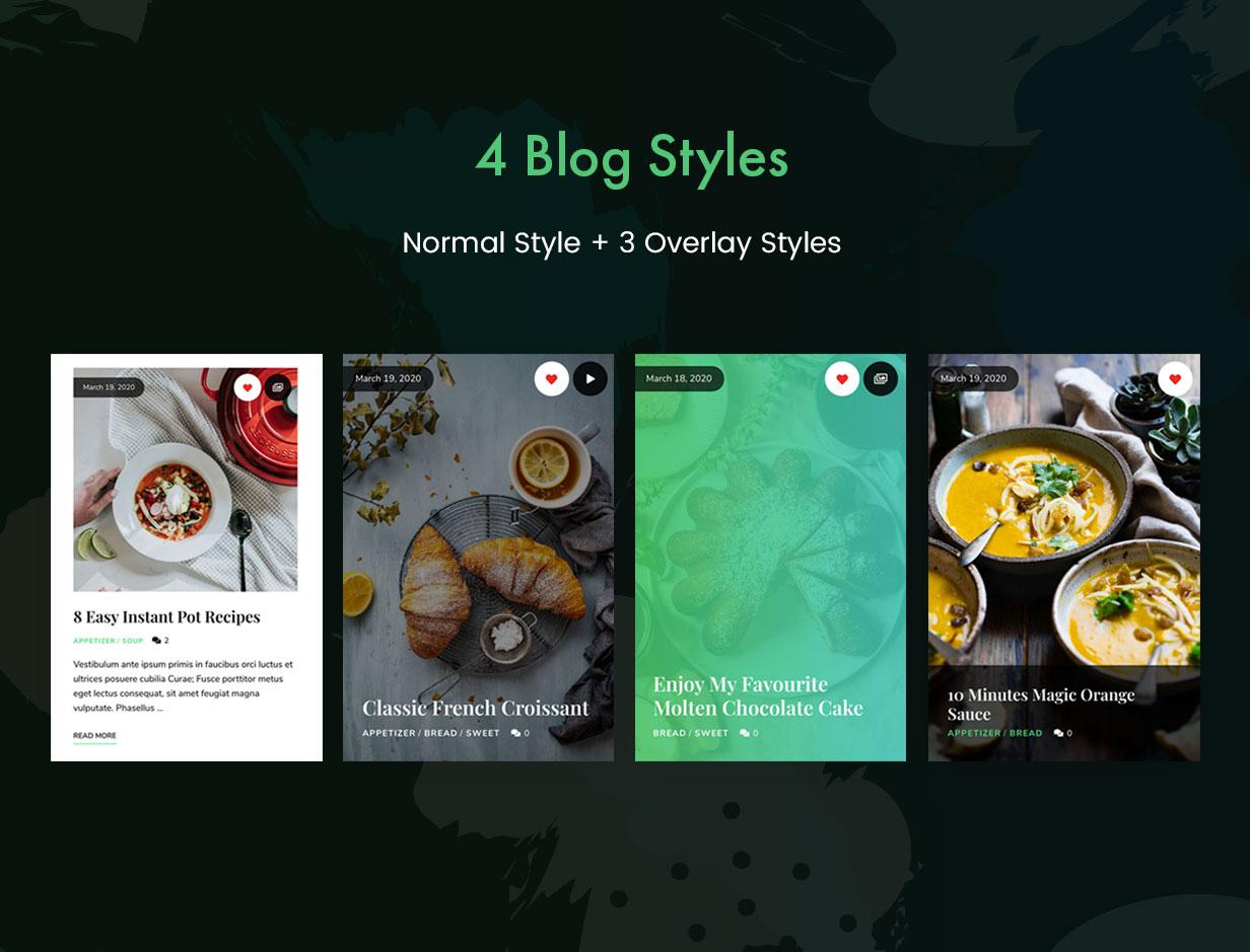 TinySalt - Blog-Stile