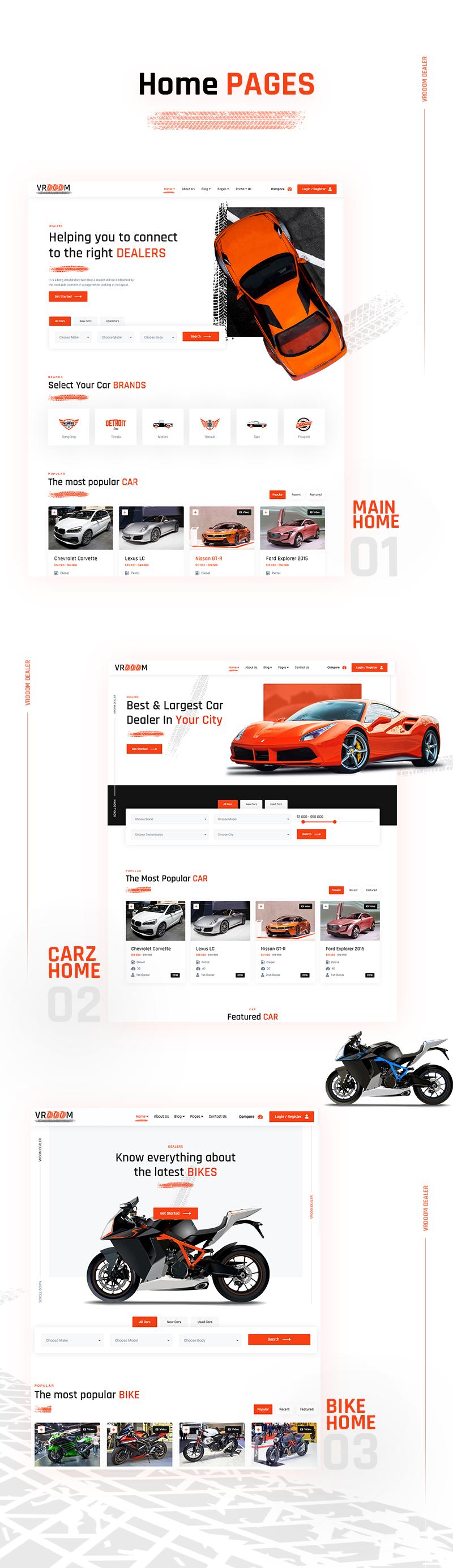 Vrooom - Autohändler WordPress Theme - 7