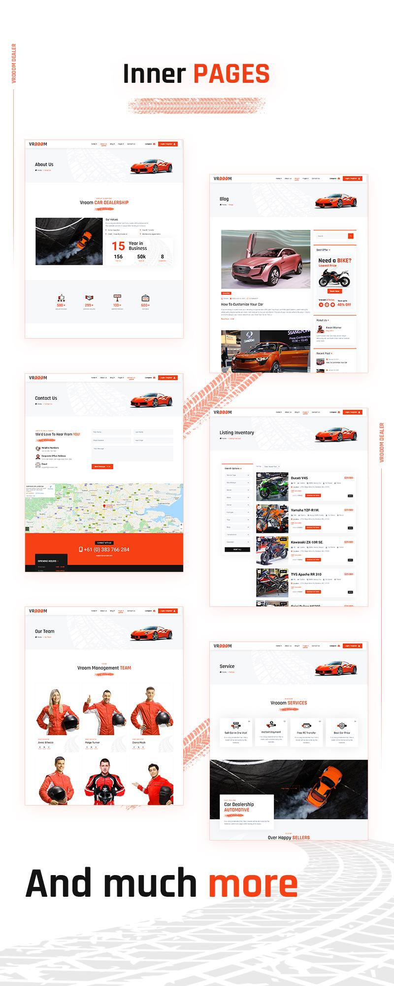 Vrooom - Autohändler WordPress Theme - 8