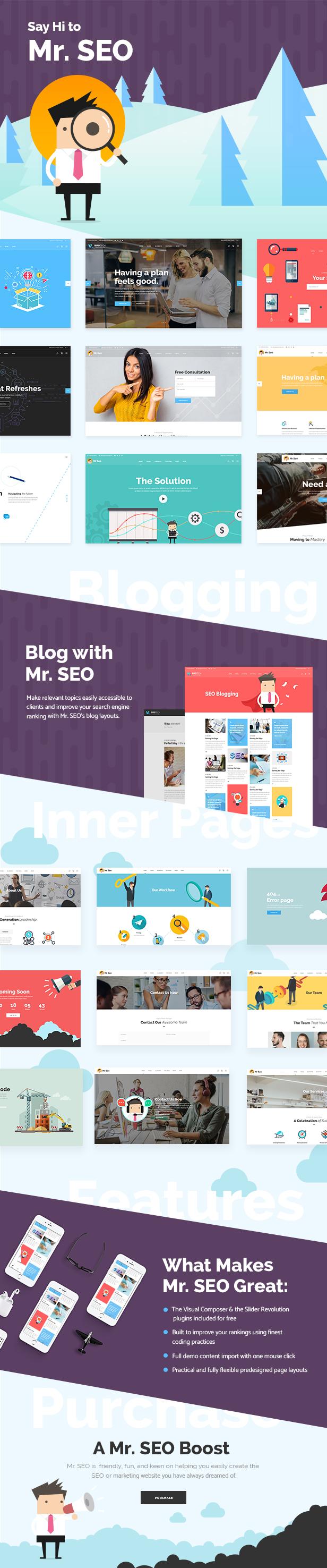Mr. SEO - Thema der Social Media Marketing Agency - 1
