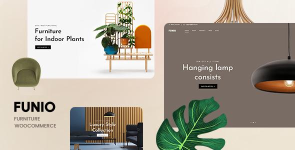 Wordpress Shop Template Funio – Furniture WooCommerce WordPress Theme