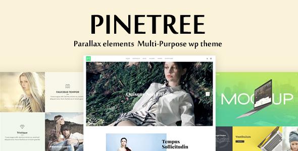 Wordpress Kreativ Template Pinetree - Multi-Purpose WordPress Theme