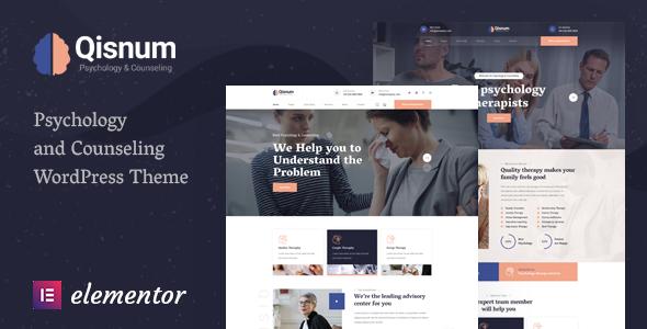Wordpress Immobilien Template Qisnum - Psychology & Counseling WordPress Theme