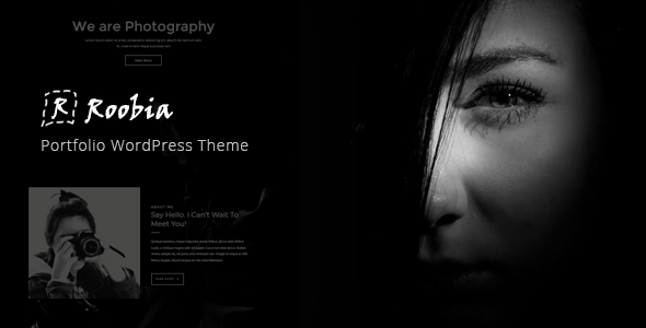 Wordpress Kreativ Template Roobia - Portfolio WordPress Theme