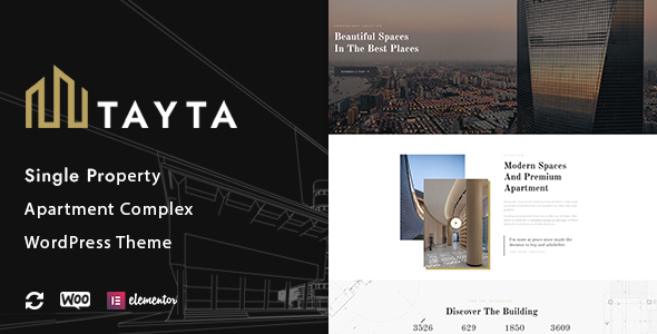 Wordpress Immobilien Template Tayta - Single Property & Apartment Complex Theme