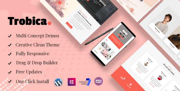 Wordpress Kreativ Template Trobica - Multi Purpose WordPress Theme