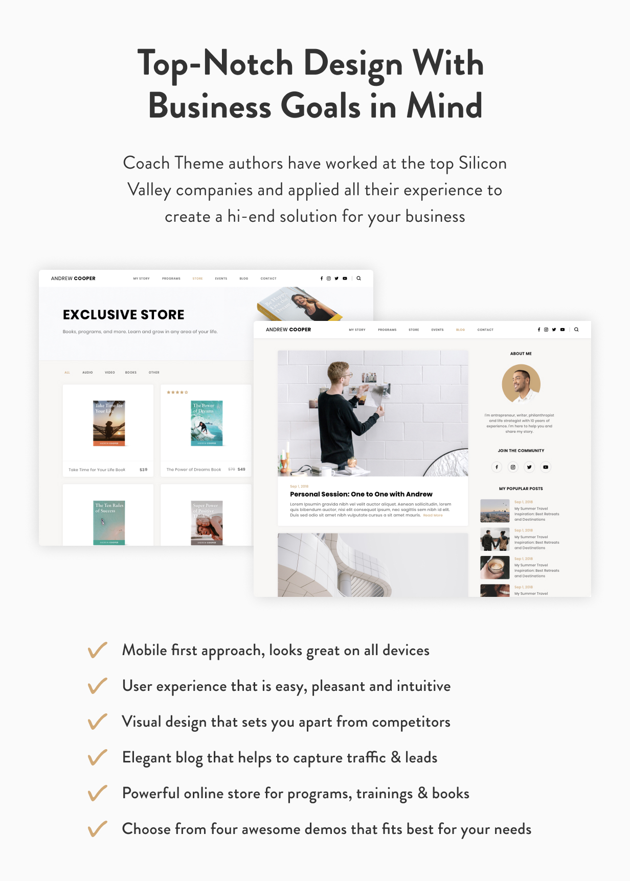 Führung - Coach WordPress Theme - 7