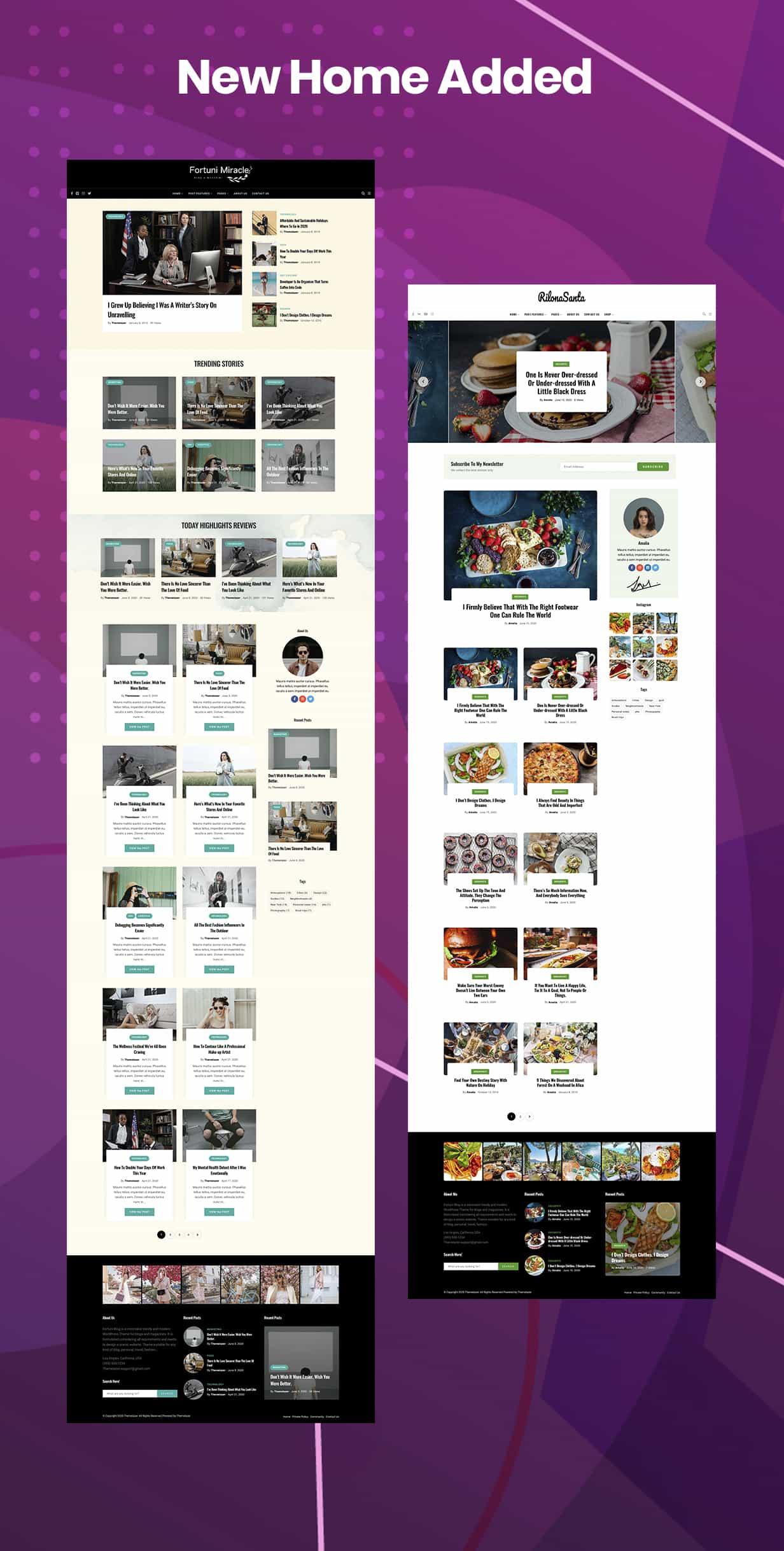 Fortuni - WordPress Blog & Magazine Theme - 1