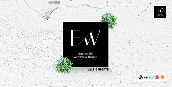 Wordpress Blog Template Eaglewood - Blog and Magazine WordPress Theme