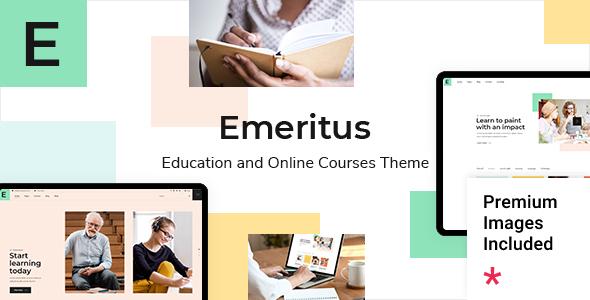 Wordpress BILDUNG Template Emeritus - Education and Online Courses Theme