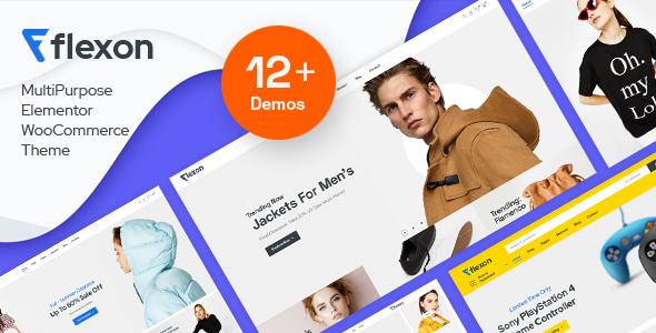 Wordpress Shop Template Flexon - Fashion, Electronics, Market WooCommerce Theme