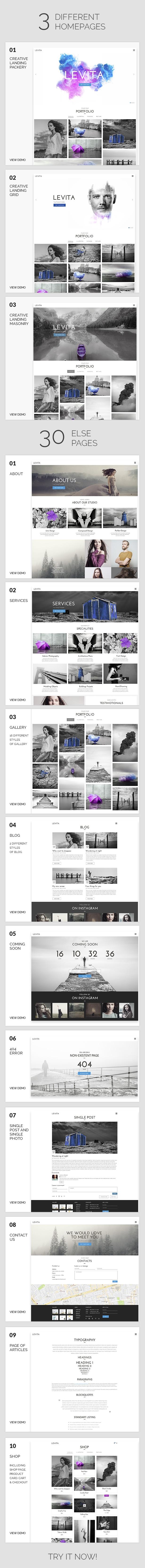 Fotografie    Levita Fotografie WordPress für Fotografie - 6