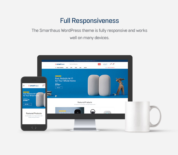 Smarthaus - Smarthome Produkte WooCommerce Theme