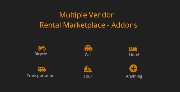 Wordpress E-Commerce Plugin Multiple Vendor for Rental Marketplace in WooCommerce (add-ons)