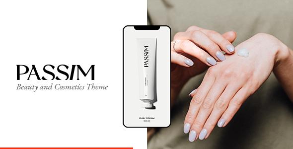 Wordpress Shop Template Passim - Beauty and Cosmetics Theme