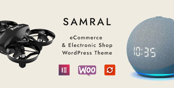Wordpress Shop Template Samral - Electronic WooCommerce Theme