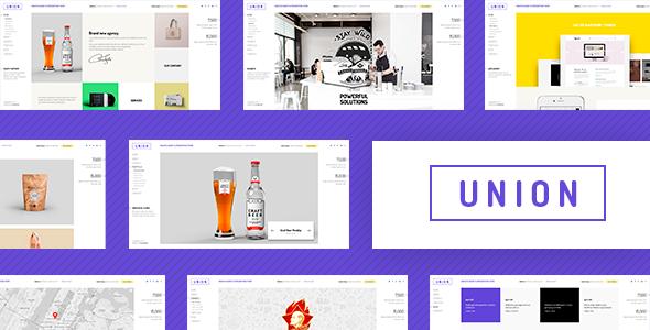 Wordpress Kreativ Template Union - Portfolio and Agency WordPress Theme