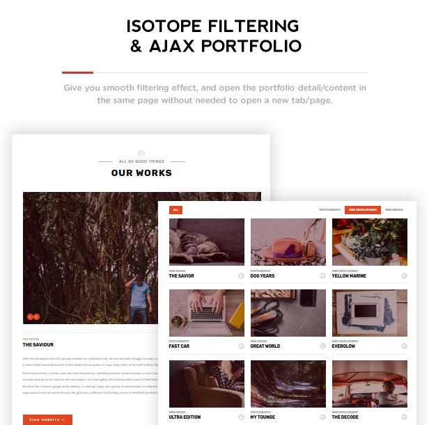 Benten - Responsive One Page Portfolio Theme - 3