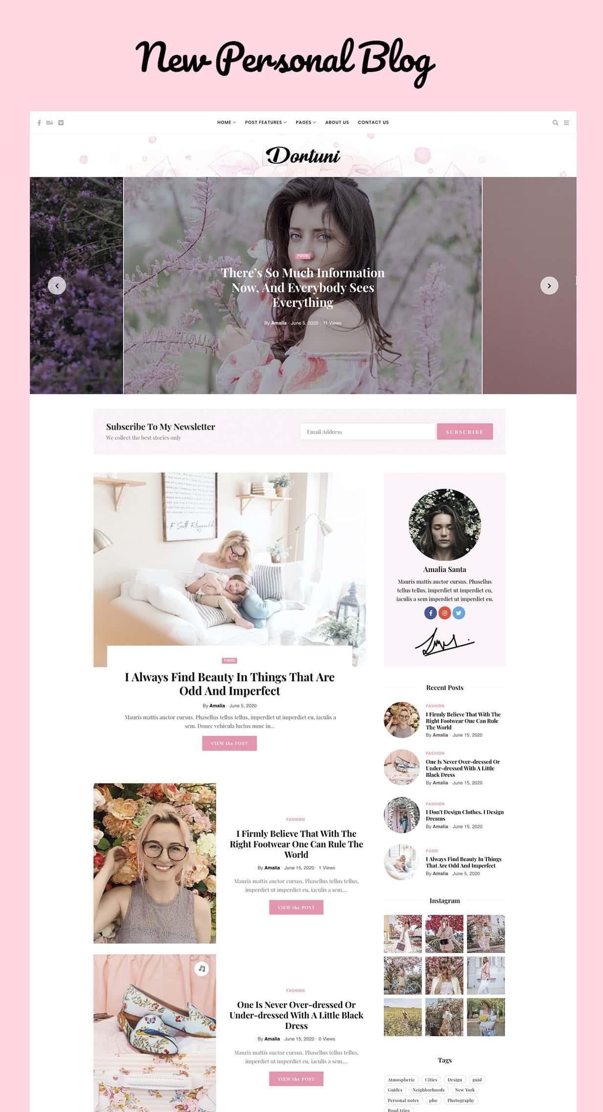 Fortuni - WordPress Blog & Magazine Theme - 3