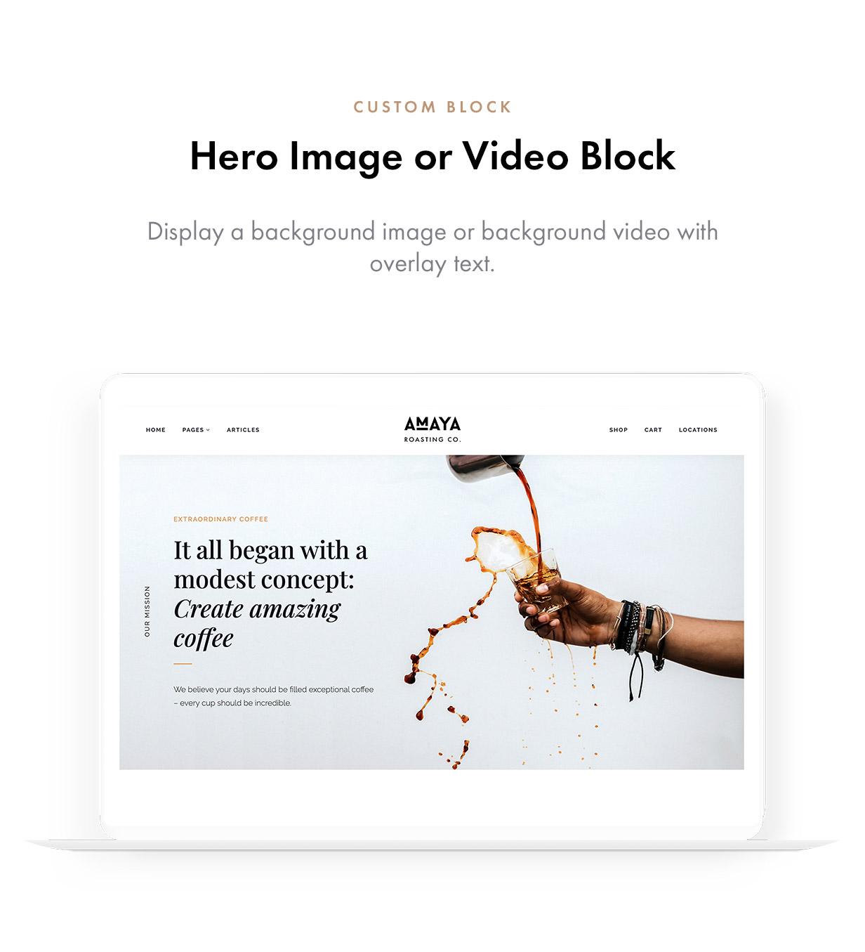 Amaya - Coffee Shop WordPress Theme - 7