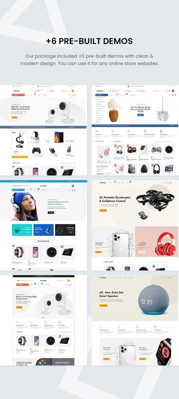 Samral - Elektronisches WooCommerce-Thema - 5