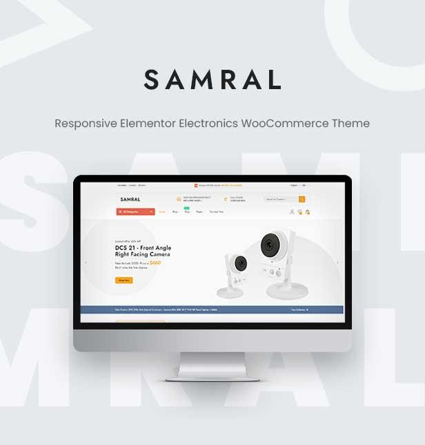 Samral - Elektronisches WooCommerce-Thema - 4