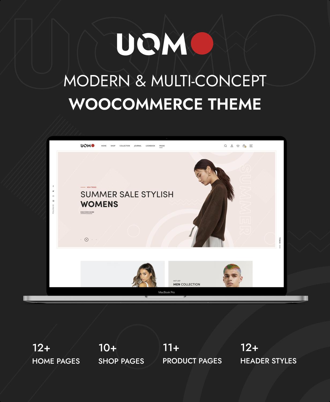 Uomo - Mehrzweck-WordPress-Theme für WooCommerce - 4