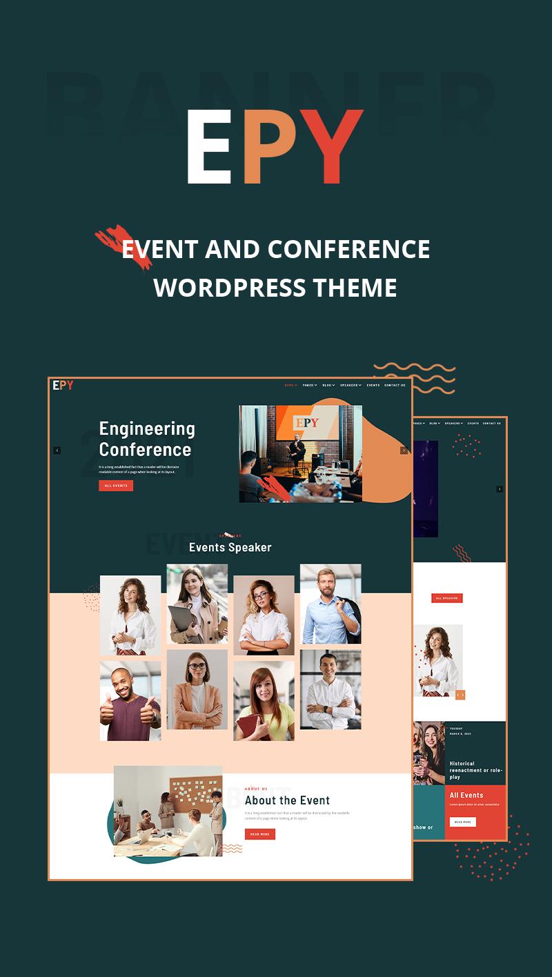 Epy |  Event Konferenz WordPress Theme - 6
