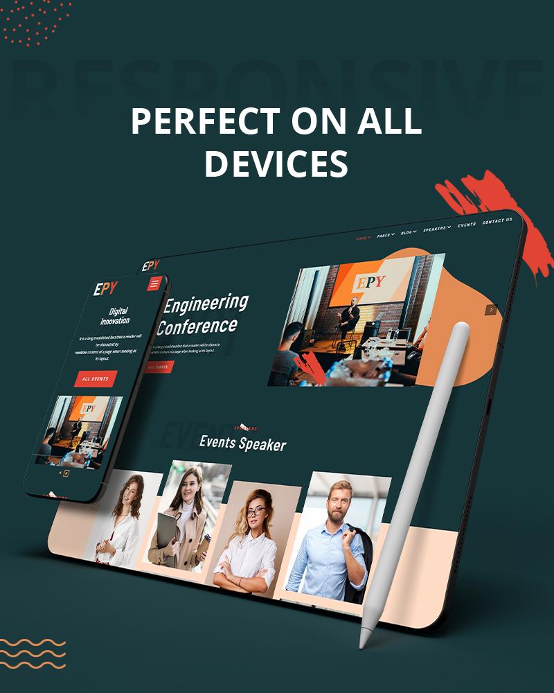 Epy |  Event Konferenz WordPress Theme - 10