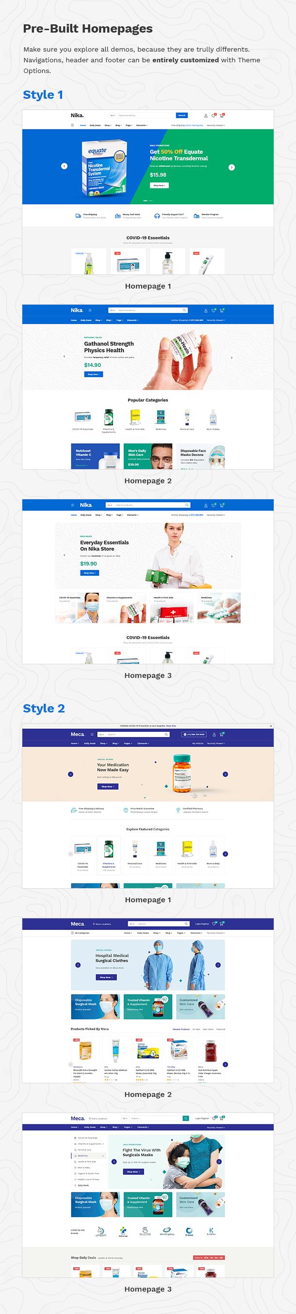 Nika - Medical Elementor WooCommerce Theme - 11