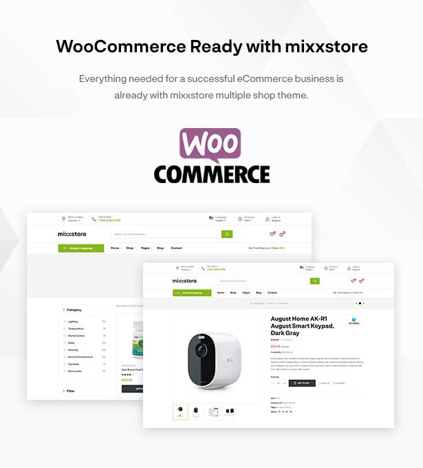 Mixxcazt - Kreatives Mehrzweck-WooCommerce-Thema
