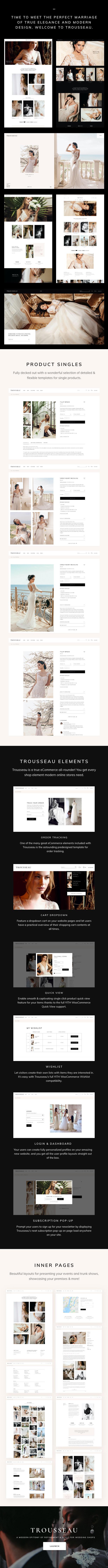 Trousseau - Bridal Shop WordPress Theme - 2