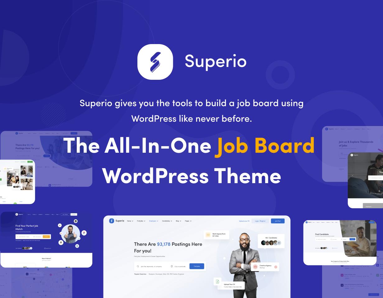 Superio - Job Board WordPress Theme - 5