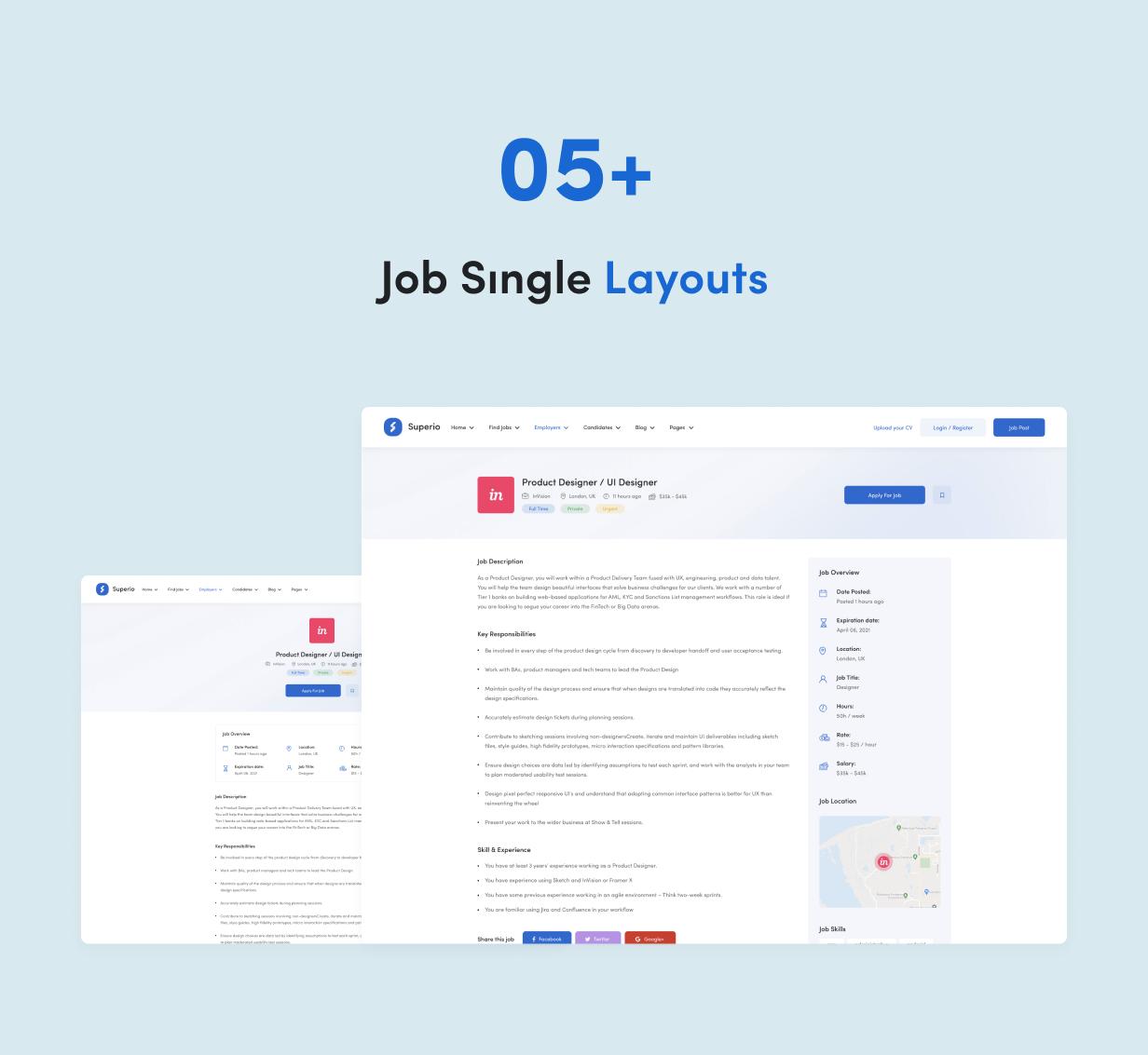 Superio - Job Board WordPress Theme - 9