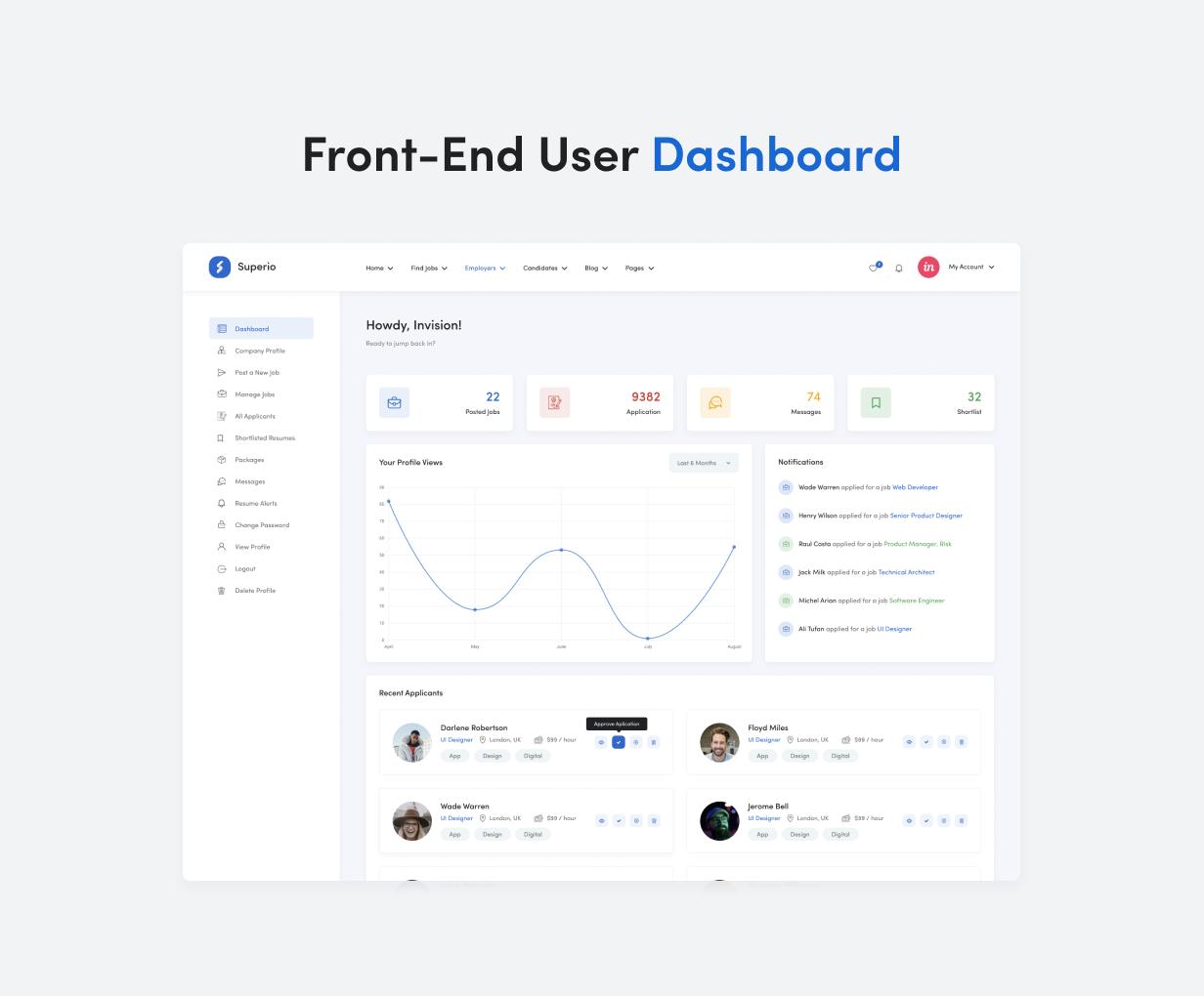 Superio - Job Board WordPress Theme - 10