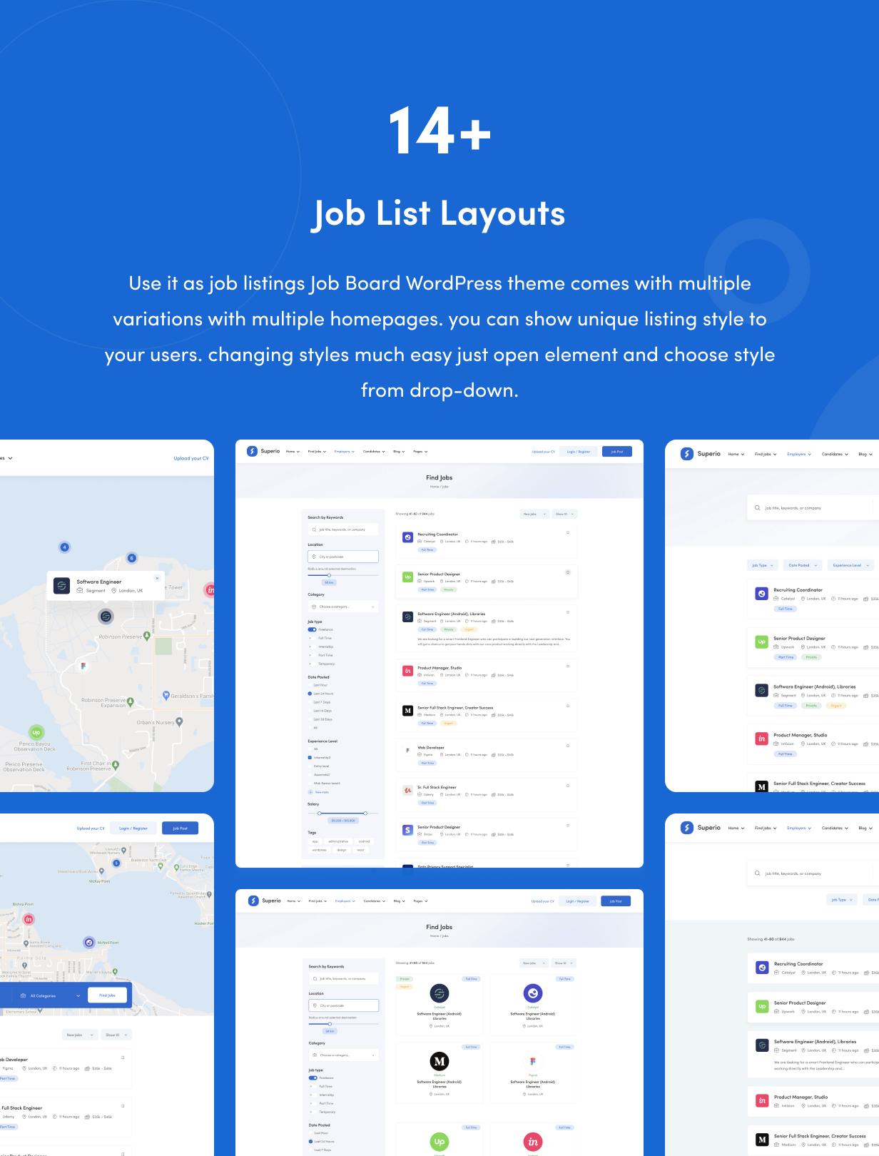 Superio - Job Board WordPress Theme - 8