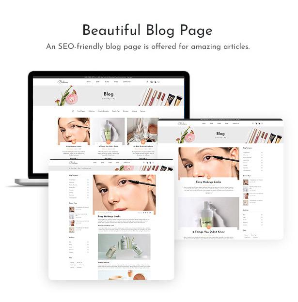Bedove - Beauty & Kosmetik Shop WordPress Theme