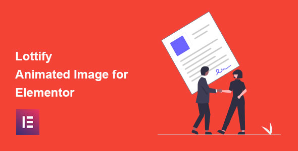 Wordpress Add-On Plugin Lottify - Lottie Animated Image Addon For Elementor Page Builder