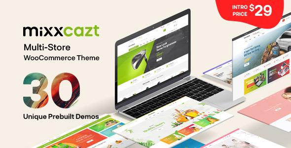 Wordpress Shop Template Mixxcazt - Creative Multipurpose WooCommerce Theme