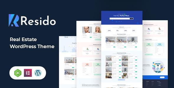 Wordpress Immobilien Template Resido - Real Estate WordPress Theme