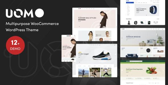 Wordpress Shop Template Uomo - Multipurpose WooCommerce WordPress Theme