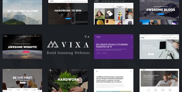 Wordpress Immobilien Template Vixa - Creative Multi-Purpose WordPress Theme