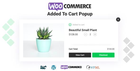 Wordpress E-Commerce Plugin WooCommerce Added To Cart Popup