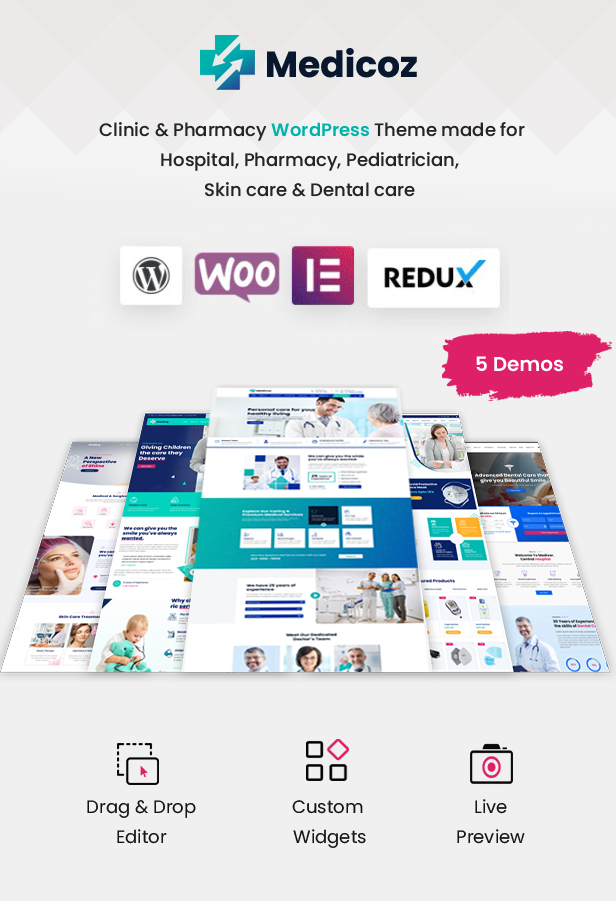 Medicoz - Klinik & Pharmazie WordPress Theme - 7