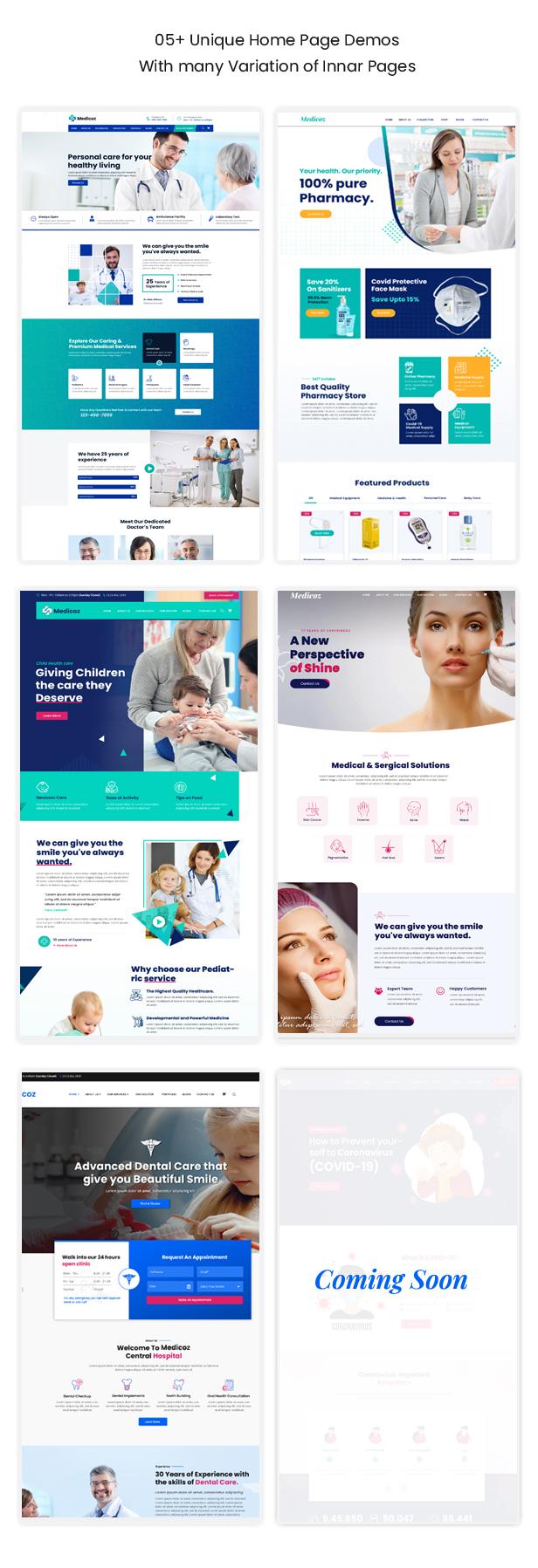 Medicoz - Klinik & Pharmazie WordPress Theme - 9
