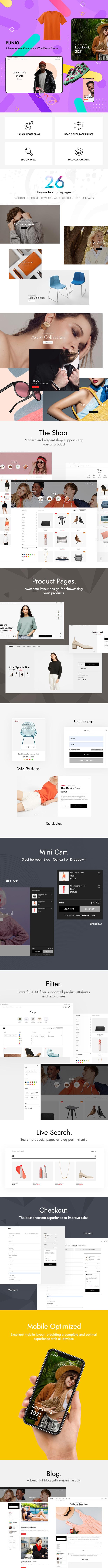Punio - All-in-One-WordPress-Theme für WooCommerce - 2