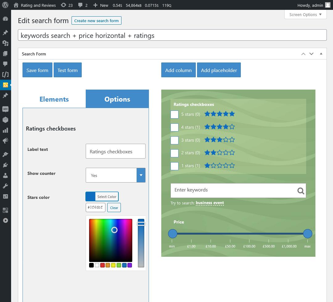 WooCommerce Search & Filter Plugin für WordPress - 10